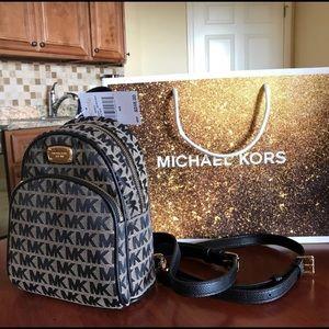 $248 Michael Kors ABBEY Backpack MK Handbag  Bag